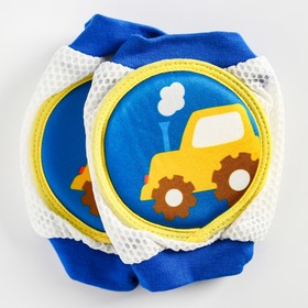 """A set of knee pads """"Tractor"""", color blue"""