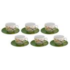 Набор чайный на 6 персон Paradise Bird, 12 предметов, чашка 250 мл