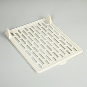 Доска для хранения одежды 33×25,5 см, цвет белый