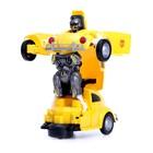 Робот-трансформер «Шмель», световые и звуковые эффекты, работает от батареек - фото 105503971