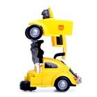 Робот-трансформер «Шмель», световые и звуковые эффекты, работает от батареек - фото 105503972