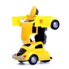Робот-трансформер «Шмель», световые и звуковые эффекты, работает от батареек - фото 105503973