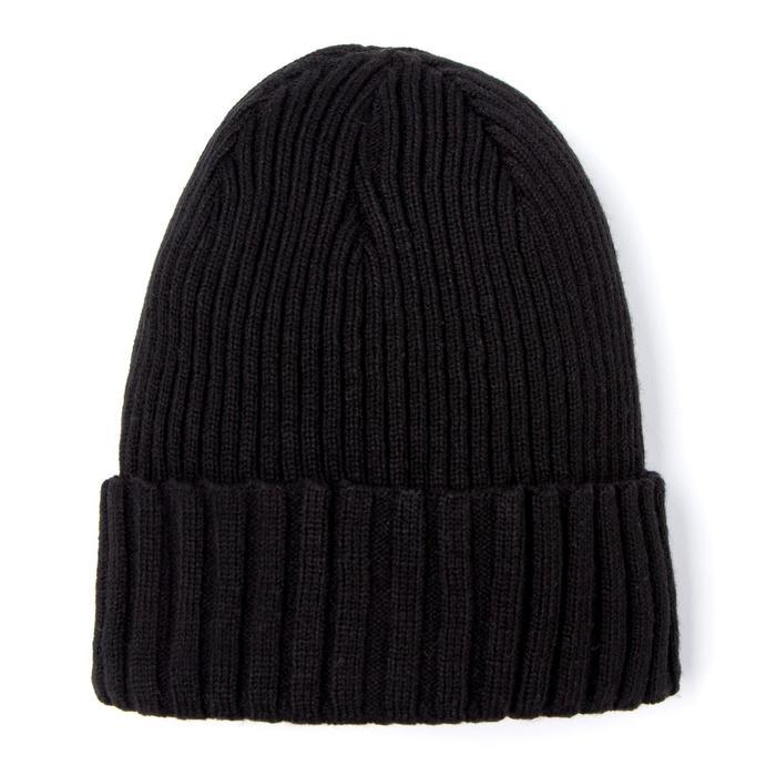 Шапка для мальчика, цвет черный, размер 50-53 см (3-6 лет)
