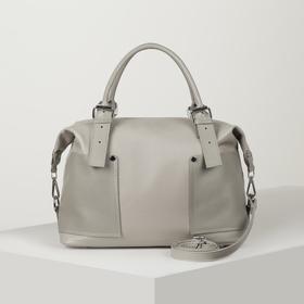 Bag wives L-8895, 39*12*24, otd at Moln, 3 n/pockets, long strap, gray