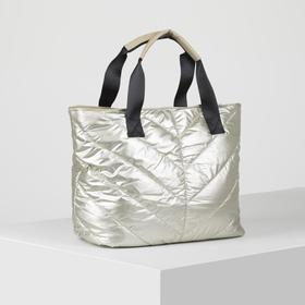 Bag travel L-005, 36*15*30 the division zipper, Golden