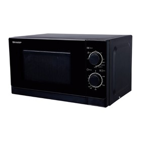 Микроволновая печь SHARP R6000RK, 800 Вт, 20 л, таймер, чёрная