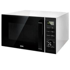 Микроволновая печь BBK 25MWC-992T/WB, 900 Вт, 25 л, 6 ступеней мощности, чёрно-белая