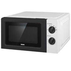 Микроволновая печь BBK 17MWS-783M/W, 700 Вт, 17 л, 6 ступеней мощности, белая