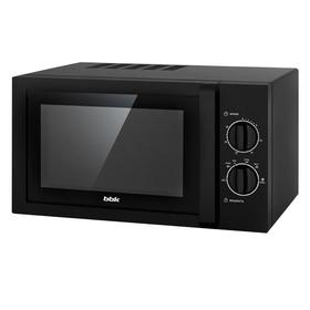 Микроволновая печь BBK 23MWS-822M/B, 800 Вт, 23 л, 6 ступеней мощности, чёрная