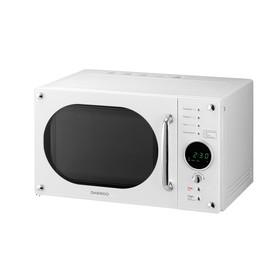 Микроволновая печь Daewoo KOR-819RW, 800 Вт, 23 л, 5 ступеней мощности, белая