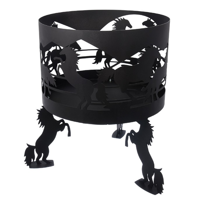 Очаг BOYSCOUT «Кони» диаметр 45 см