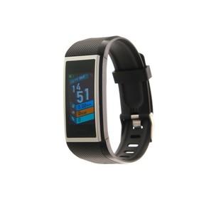 """Фитнес браслет Smarterra FitMaster 5, 1.14"""", IP67, цветной дисплей, пульсометр, черный"""