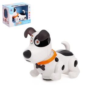 Игрушка-собака «Лакки», световые и звуковые эффекты работает от батареек