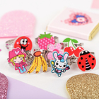"""Ring children's """"Vibracula"""" fruit country, form MIX, MIX color, dimensionless"""