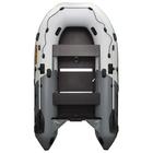Лодка Муссон 3600 СК Pro слань+киль, цвет бело-серый