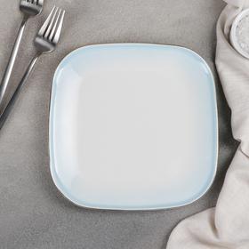 {{photo.Alt || photo.Description || 'Блюдо для подачи «Туманность», 19,5×2,5 см, цвет голубой'}}