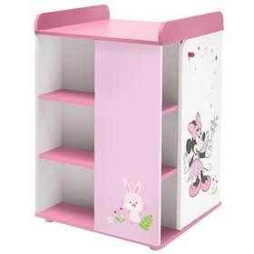 Комод Polini kids Disney baby 2090 «Минни Маус-Фея» с дверью, цвет белый-розовый