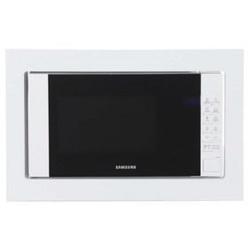 Встраиваемая микроволновая печь Samsung FW77SUW , 1250 Вт, 20 л, соло, белая