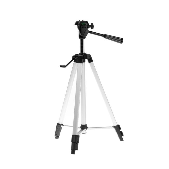 Штатив LuazON напольный, регулирование высоты 52-145 см, черно-серый