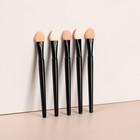 A set of applicators d/shadows 5pcs 7.5 cm black pack QF