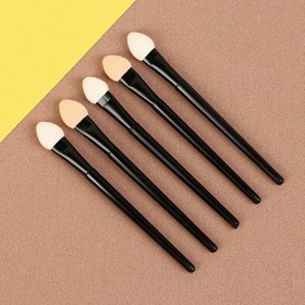 A set of applicators d/shadows 5pcs 7.5 cm black pack QF