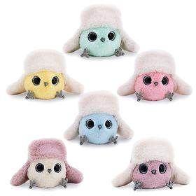 """Soft toy """"KTOtik with earflaps"""", 13 cm, MIX color"""