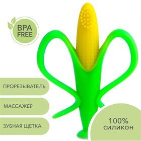 Прорезыватель - зубная щетка детская Uviton «Кукуруза»