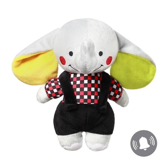 Развивающая велюровая игрушка BabyOno «Слон АNDY»