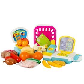 Игровой набор «Продуктовый магазин», 27 предметов