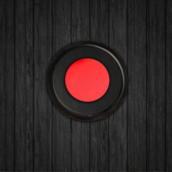 Набор сверхплоских врезных светильников 6 шт, IP66, 0.5 Вт/шт, 12 В, МУЛЬТИ, форма круг