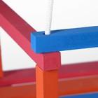 Качели детские подвесные, деревянные, сиденье 28×34,5см - фото 105452641