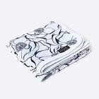 Одеяло, размер 100 × 100 см, муслин, принт blossom