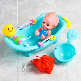 "A set of bath toys ""Baby in tub"", 5 items"