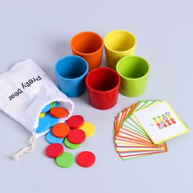Развивающая игра «Подбери нужный цвет» 6×21×13 см