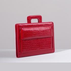 Portfolio L-2881-43, 40*13*29, 5 otd, otd for tablet 3 n/pockets, long belt, Yar.red