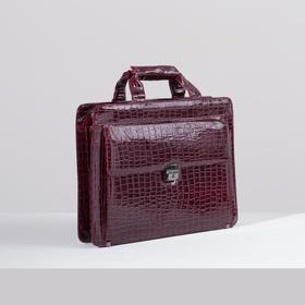 Portfolio L-6232-40, 39*15*29, 5 otd, otd for tablet, 2 n/pockets, long strap, Bordeaux