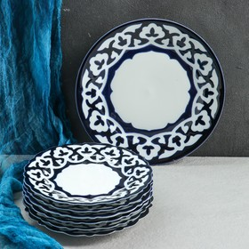 Набор для блинов Пахта, 7 предм., тарелка 22см, 6 тарелок 17,5см