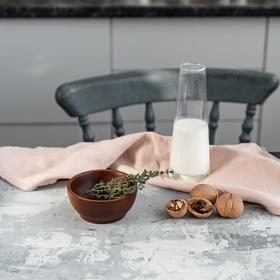 Чаша из натурального кедра Mаgistrо, 10,5×4,7 см, цвет коричневый