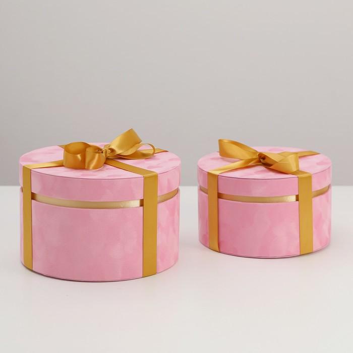 Набор коробок 2 в 1, 23 х 23 х 14,5 - 20 х 20 х 12 см - фото 798466853