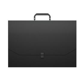 Папка-портфель А3, 1 отделение, 600 мкм, ErichKrause Matt Classic, до 350 листов, чёрная