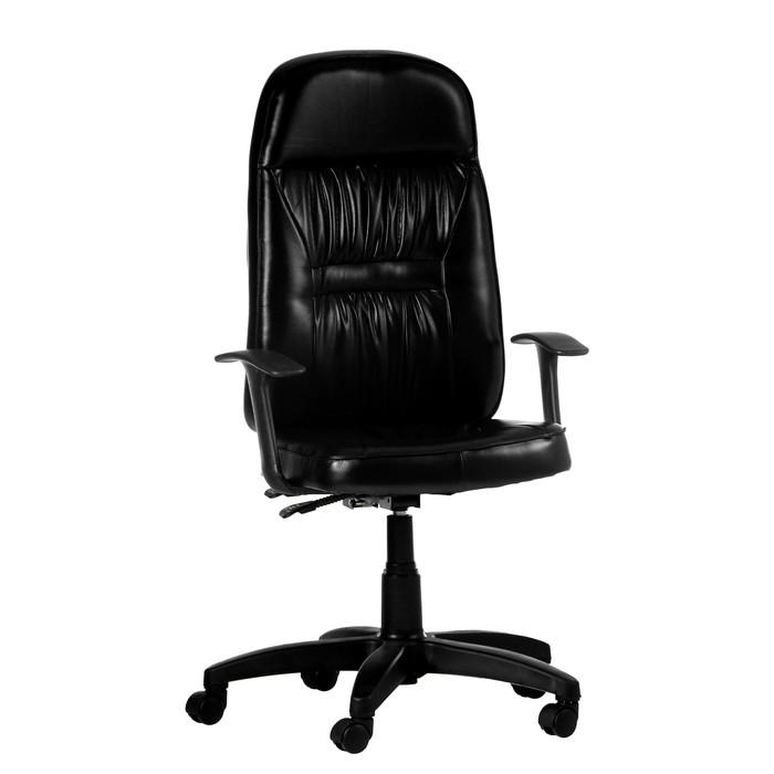 """Кресло руководителя """"Специалист"""", экокожа, черное МК-010"""