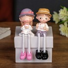 "Souvenir Polyresin ""Toddler/Baby in a hat"" long legs MIX 11х3х3,5 cm"