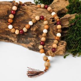 "Orthodox rosary ball No. 10 ""Hardwood"" 50 beads"