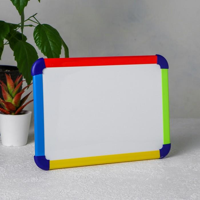 Доска маркерно-магнитная «Радуга»1×22×30 см