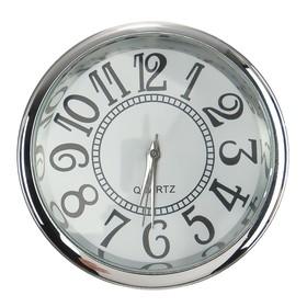 Часы автомобильные, внутрисалонные, d 4.5 см, ретро