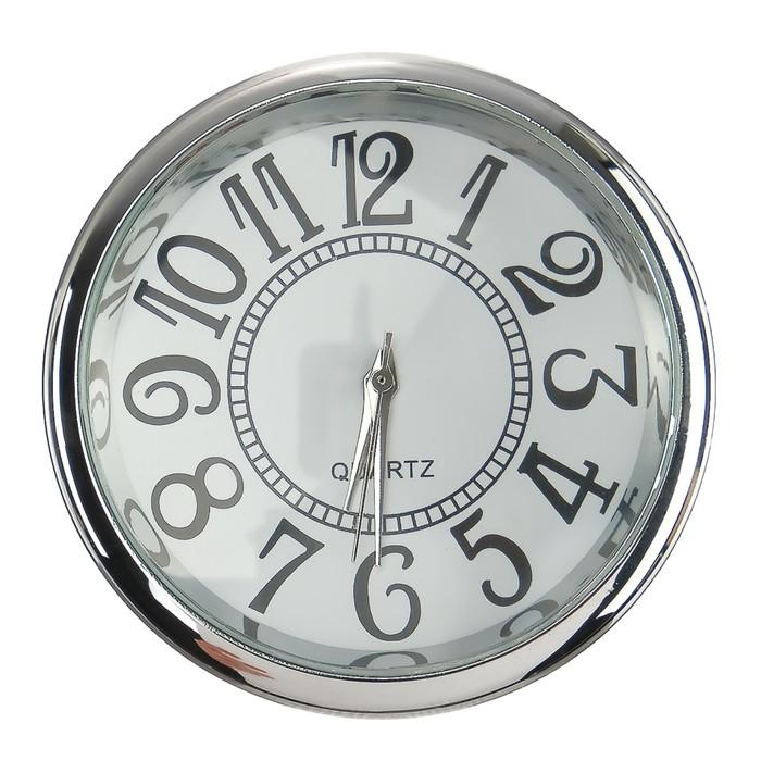 Часы автомобильные, внутрисалонные, d 4.5 см, ретро - фото 798468612