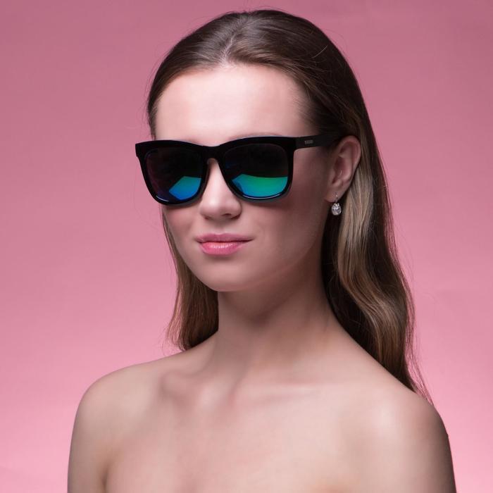 """Очки солнцезащитные """"Мастер К."""", uv 400, 14х14х4.5 см, линза 4.5х5.2 см, зеркальные - фото 798468842"""