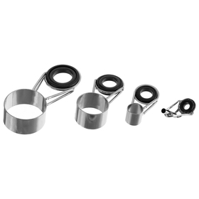 A set of rings to repair fishing rods 4 m