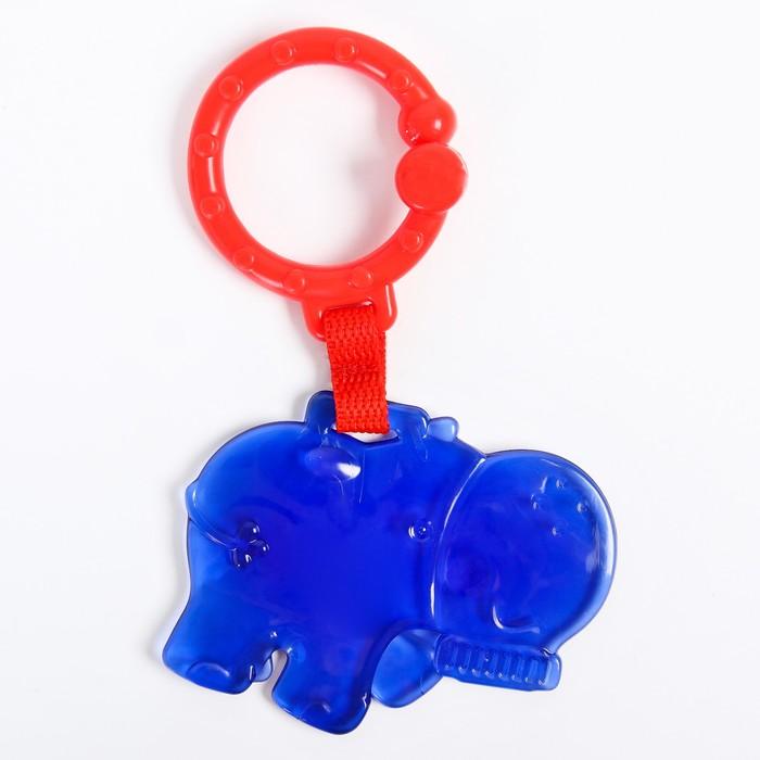 Подвеска «Бегемот», цвет синий - фото 76134039