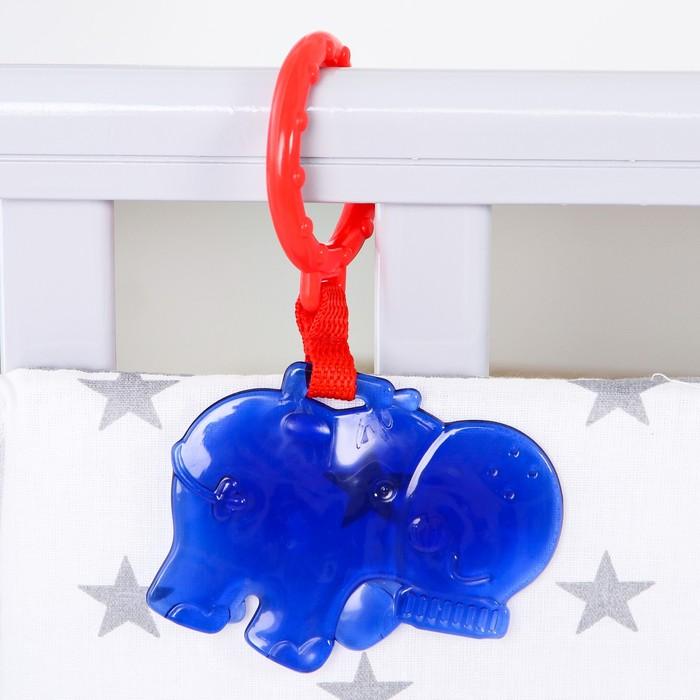 Подвеска «Бегемот», цвет синий - фото 798468953